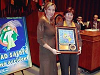 Heather Mills y la Dra. Mirta Roses