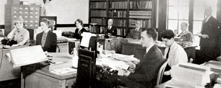 PAHO staff in the 1940's