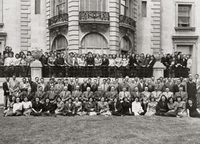 PAHO staff in the 1950s