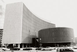 PAHO HQ in Washington, DC, opened in 1965