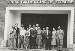 Pan American Zoonoses Center in 1961
