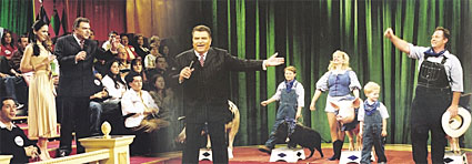 Don Francisco in action