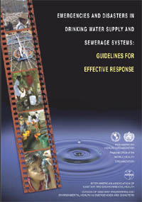 Emergencies and disasters in drinking water supply and sewerage systems